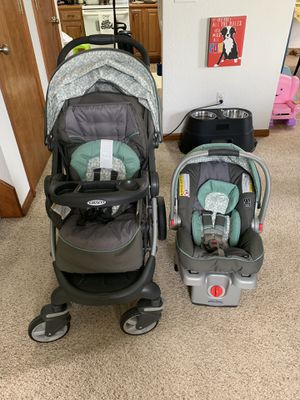 Graco Snug Ride 35 Car seat and Click Connect Stroller for Sale in Bonner Springs, KS