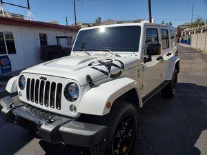 2015 Jeep Wrangler Unlimited Altitude Edition for Sale in Phoenix, AZ