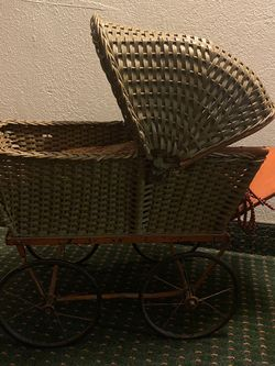 Doll Stroller From 1800's for Sale in Los Angeles,  CA