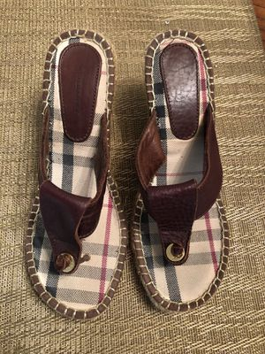 AUTHENTIC BURBERRY SANDALS for Sale in Hapeville, GA