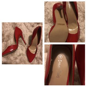 Dream Paris Red Pointed Toe Heels size 9 for Sale in Del Valle, TX
