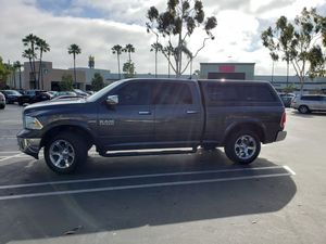 2014 dodge ram 1500 - Laramie crew cab with camper shell - V8 5.7L hemi for Sale in San Diego, CA