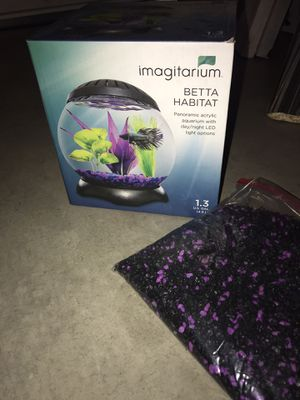 Fish tank, everything included, like new for Sale in Riverbank, CA