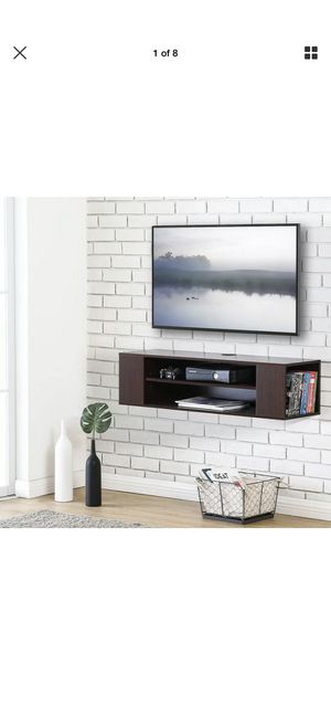FITUEYES Universal Wall Mount Media/AV Console, Floating TV Stand for Sale in Pembroke Pines, FL