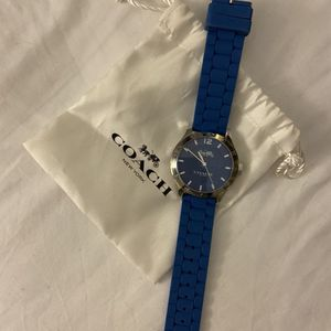 New Blue Coach Watch for Sale in Corona, CA