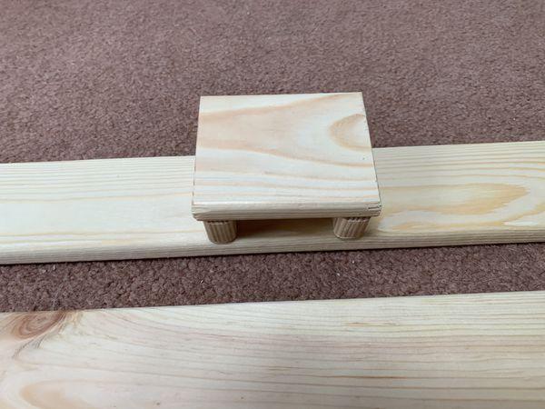Handmade guitar pedal board
