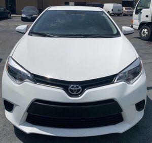 2015 Toyota Corolla for Sale in Dallas, TX