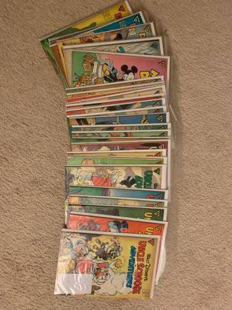 Huge Collection of Comics that fills 7 boxes Marvel, DC, Dark Horse, Black Thorne...