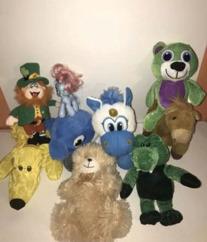 Mixed Plush Stuffed Animal Lot Of 9 Plush Toys For Kids for Sale in Boca Raton, FL