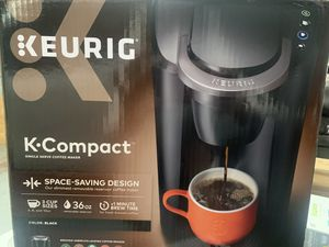 Keurig- coffee maker; brand new and black for Sale in Glendale, AZ