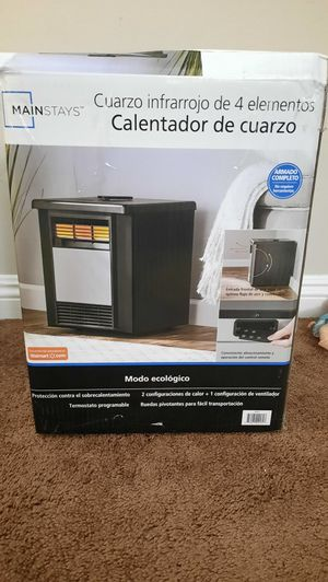 Mainstays Infrared Heater / Calenton for Sale in Bell Gardens, CA