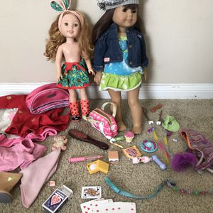 American Girl Doll! And WellieWisher for Sale in Liberty Hill, TX