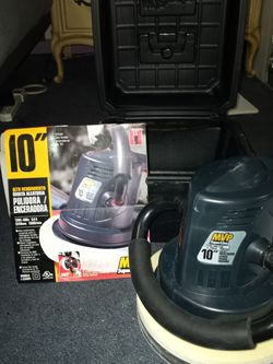"MVP Superline High Power Polisher 10""/250mm In Case With Manual And Original Box Included for Sale in St. Louis,  MO"