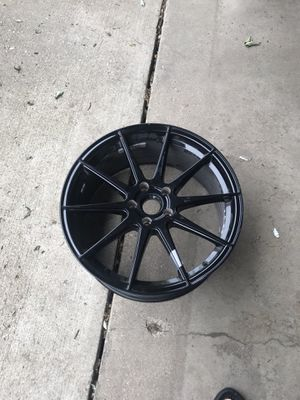 19x8.5 Vertini RF1.3 with a 35 offset wheel gloss black. for Sale in Rockford, IL