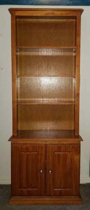 Wooden book shelf for Sale in Port St. Lucie, FL