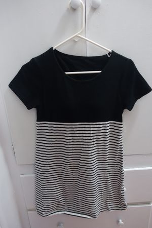 Build-in bra striped dress size S for Sale in El Monte, CA