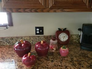 Apple Cannister Set for Sale in Joliet, IL