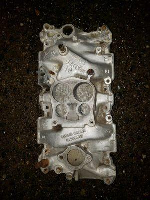 SBC 350 5.7L 4-barrel Aluminum Intake Manifold for Sale in Puyallup, WA