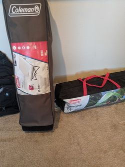 Brand New Air Mattress Cot, Used Tent, Shoulder Bag for Sale in Phoenix,  AZ