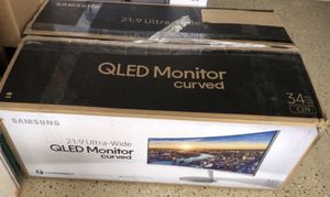Samsung monitor 21.9 Curved for Sale in Las Vegas, NV