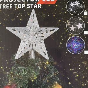 Silver Tree Topper Projector Led Brand New for Sale in Aldie, VA