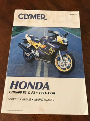 Motorcycle manual for Sale in Hemet, CA