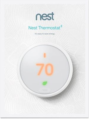 Brand New Google - Nest Smart Thermostat E - White for Sale in Houston, TX