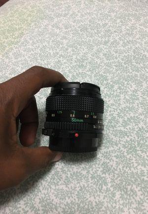 Canon Lens FD 50mm 1:1.4 for Sale in Pembroke Pines, FL