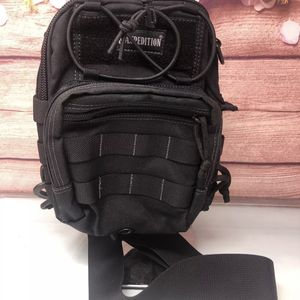 NEW Maxpedition Remora Gearslinger 419 Black Nylon Hard Use Crossbody Backpack for Sale in Garden Grove, CA