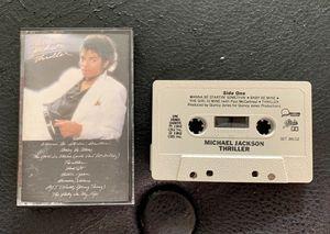 Thriller Music Cassette for Sale in Orlando, FL