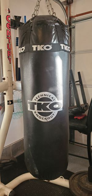Punching bag with stand for Sale in Newport News, VA