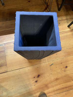 Medium sized gray ornate planter for Sale in Boston, MA