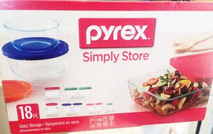 Brand new Pyrex Simply Store 18 pieces set for Sale in Fremont, CA