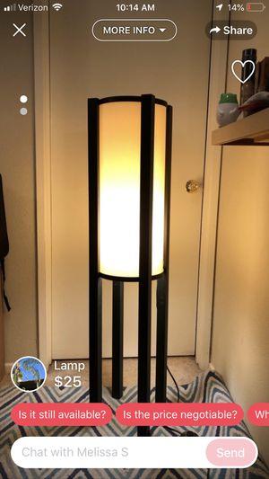 Floor lamp for Sale in El Segundo, CA