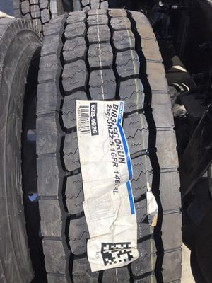 FALKEN BI830 295/75R22.5 16PLY USA MADE🇺🇸🇺🇸🇺🇸 COMMERCIAL TRUCK AND TRAILER TIRES for Sale in Riverside, CA