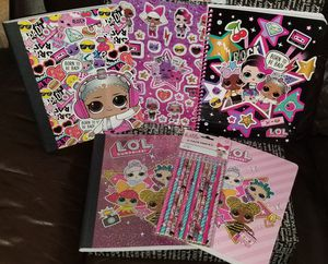 L.O.L. Surprise Colorful Back 2 School Bundle for Sale in Brooklyn, NY