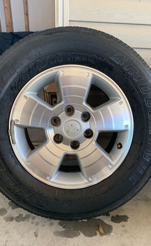 "Toyota 4Runner rims and tires 17"" set of 4 for Sale in Davenport, FL"