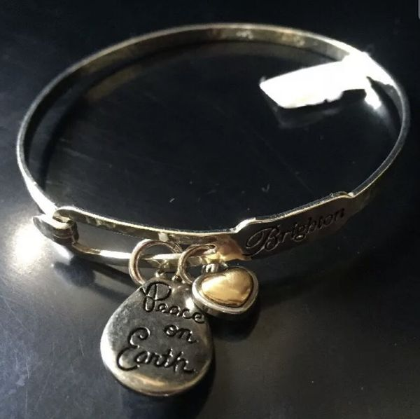 Brighton Peace on Earth Bracelet new with tags