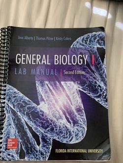 FIU General Bio 1 Lab Manual for Sale in Miami,  FL