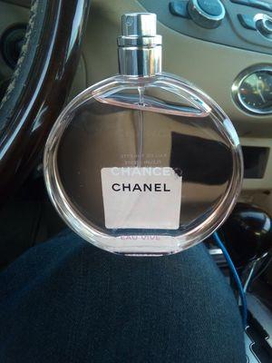 Chanel chance women's perfume for Sale in San Bernardino, CA
