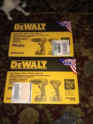 Dewalt combo kits for Sale in Philadelphia, PA