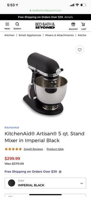 KitchenAid mixer for Sale in Greenville, SC