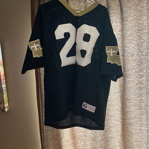 Saints jersey Size Adult XL #28 Mesh for Sale in Manalapan Township, NJ