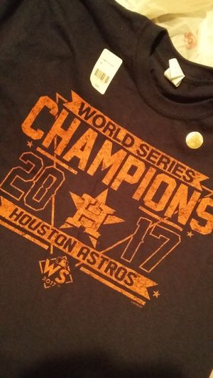 Astros WS Champions shirt for Sale in Houston, TX