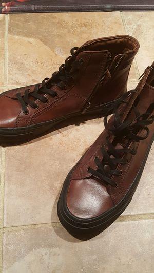 Men FRYE zip & lace sneaker boots SIZE 10.5 D for Sale in Willingboro, NJ