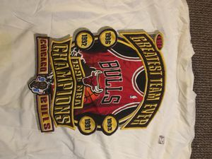 NEW Starter T-Shirt Bulls 1996 Championship for Sale in Quincy, IL
