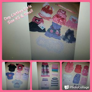 Dog Puppy Clothes Girls 24 Pieces SUPER CUTE LN for Sale in Delaware, OH