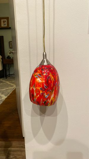 Colored Pendant Ceiling Lamp for Sale in Fort Lauderdale, FL