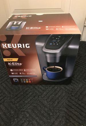 Keurig K-Elite coffee brewer for Sale in Plano, TX