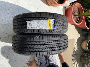 2 integrity Goodyear tires 50$ each price is NONNEGOTIABLE number for tire is 215/70R15 for Sale in Woodbridge, VA